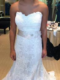 Wedding Dresses Pasadena What Sashbelt To Wear With Gown Weddingbee