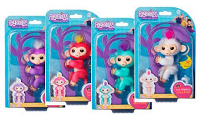 NEW WowWee Fingerlings Baby Monkeys 1499