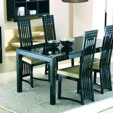 Set Of 4 Dining Chairs Exciting Room Ideas Astonishing
