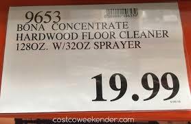 bona hardwood floor cleaner concentrate 128 oz costco weekender