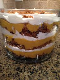 Nilla Pumpkin Mousse Trifle by Pumpkin Gingerbread Trifle Tomatoes For Cucumbers