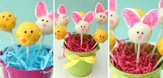 Bunny & Chick Cake Pops