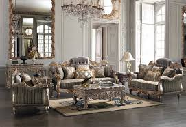287 Homey Design upholstery living room set Victorian European