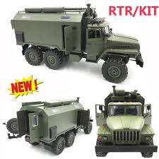 100 Rc Army Trucks WPL B36 Ural 116 24G 6WD RC Car Military Truck Rock Crawler RTR