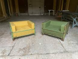 industrial lounge chairs 1960s set of 2