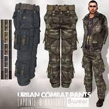 Mens Urban Combat Cargo Pants