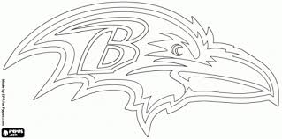 Free Nfl Coloring Pages Preschoolers Team Logo Intended For Logos