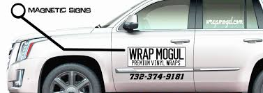 Magnetic Signs | Wrap Mogul Premium Vinyl Wraps