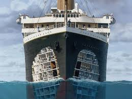 Titanic Sinking Simulation Real Time by Titanic 100 Years National Geographic Channel