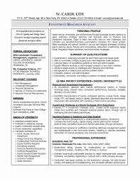 Resume For Research Analyst Fresher New Sas Business Of