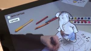 Disney Augmented Reality Coloring Book Research