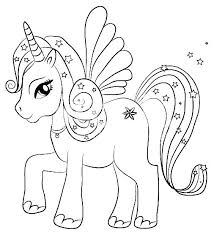 Flying Unicorn Coloring Pages Page Printable Free Emoji Pictures To Print