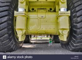 100 Largest Truck In The World Small Child Exploring Terex Titan Haul Truck For Open Pit Mines