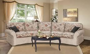 raphael halbrundes sofa 5 sitzer landhausstil