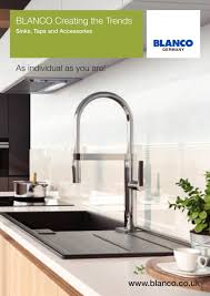 Blanco Silgranit Sinks Uk by Blanco Creating The Trends Blanco Gmbh Co Kg Pdf Catalogues