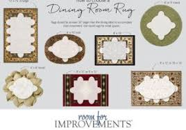 Area Rug Size Guide For Dining Room Elegant Selecting The Best Your Space