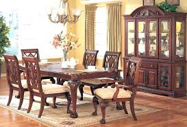 Used Dining Room Sets With China Cabinet Set Cherry Interior Design Formal Near Me