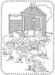 806 best Vintage Shortcake Coloring Books images on Pinterest