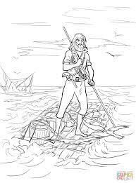 Coloriage Tom Sawyer A Imprimer Gratuit