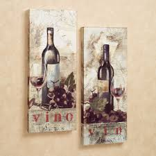 Wine Themed Kitchen Set by Wall Art Ideas Design Kitchen Tapestries Wine Canvas Wall Art