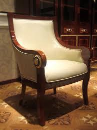 esszimmer stuhl 1 sitzer sessel holz luxus klasse barock rokoko möbel design e68