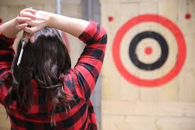 Axe-throwing Club Wants Alcohol Licence Bad Axe Throwing Where Lives Youtube Think Darts Are Girly Try Axe Throwing Toronto Star Outdoor Batl At In Youre A Add To Your Next Trip Indy Backyard League Home Design Ideas The Join The Moving Into Shopping Mall Yorkdale Latest News National Federation Menu