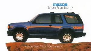 100 1994 Mazda Truck Navajo Is The Classic Ford Explorer SUV Twin That Is Now Rare