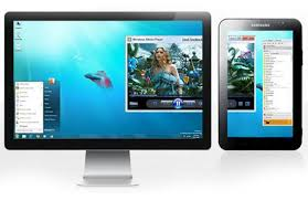Extend your Windows or Mac desktop to an Android Tablet or Phone