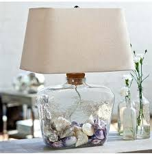 Fillable Table Lamp Base by Leviton Fillable Glass Table Lamps To Fill Lamp Base Kit From