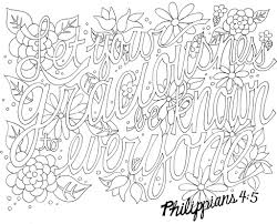 Adult Coloring Page Bible Verse Pages Other Inside