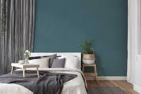 vliestapete textil optik im scandinavian stil blau grau