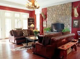 Rustic Living Room Ideas On A Budget Brown Rug Maroon Velvet Sofa