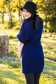 navy blue turtle neck dress exalted heights