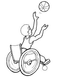 Printable Disabilities 10 People Coloring Pages
