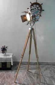 Wooden Tripod Floor Lamp Target by Flooring Decor Tripod Lamp Brass Pharmacy Floor Target Wood