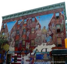 Harlem Hospital Glass Mural by The Historic Murals In El Barrio On The Municipal Art Society U0027s