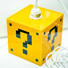Mario Bros Question Block Lamp by Mario Question Mark Block Lamp Shut Up And Take My Money
