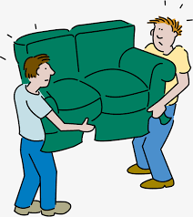 déménager un canapé déménager d illustration soulever des trucs déménager canapé