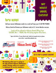 Operation Gratitude Halloween Candy Buy Back by Halloween Candy Buy Back At All Our Brevard County Dental Offices