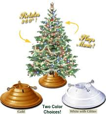 White Christmas Tree Walmartca by Best 25 Rotating Christmas Tree Stand Ideas On Pinterest