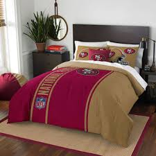 San Francisco 49ers The Northwest Company Soft Cozy 3 Piece Full Bed Set