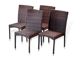Amazon.com : SunBear Furniture Set Of 4 Patio Resin Outdoor ... Adams Manufacturing Quikfold White Resin Plastic Outdoor Lawn Chair Semco Plastics Patio Rocking Semw 5 Pc Wicker Set 4 Side Chairs And Square Ding Table Gray For Covers Sets Tempered Round 4piece Honey Brown Steel Fniture Loveseat 2 Sku Northlight Cw3915 Extraordinary Clearance Black Bar Rattan Small Bistro Pa Astonishing And Metal Suncast Elements Lounge With Storage In