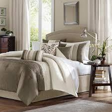 madison park amherst comforter set california king natural