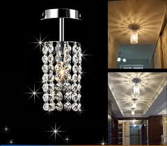 led chandeliers hallway small light l for