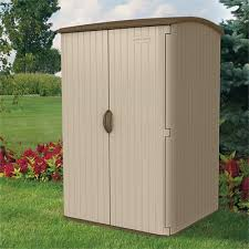 Step2 Lifescapestm Highboy Storage Shed by Suncast 4 Ft 8 In W X 4 Ft 1 In D Plastic Vertical Tool Shed