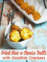 recette de cuisine simple avec des l umes easy cheesy macaroni cheese fried mac n cheese balls with goldfish