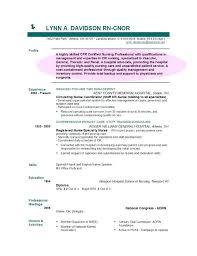 Nursing Position Objectives Resumes Graduate Nurse Resume Objective