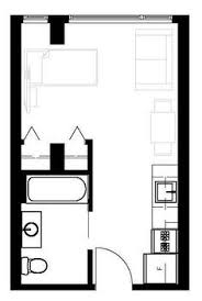 Stylish 300 Sq Ft Apartment Floor Plan Square Foot Plans