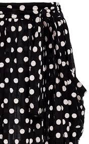 polka dot maxi skirt by mara hoffman swim moda operandi