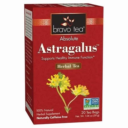 Bravo Tea Astragalus Tea 20 Bag